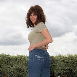 Carol Vorderman has become the first woman to win the Rear Of The Year title twice