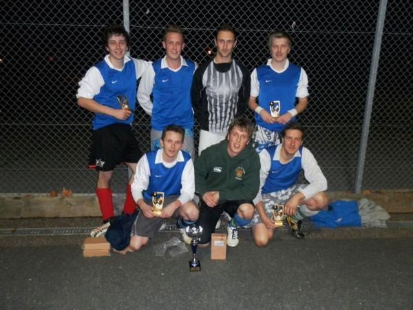 Compete in six-a-side league