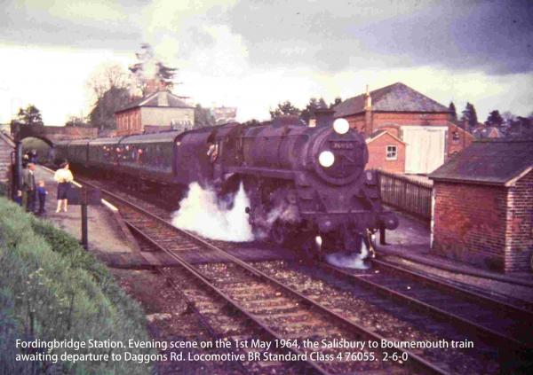 Salisbury to West Moors railway calendar to raise cash for polio mission