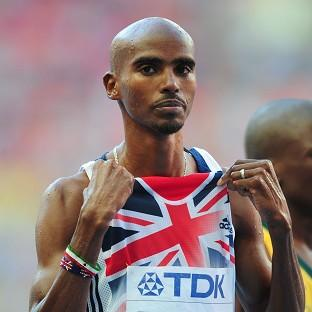 Mo Farah had been due to compete in the 5,000m and the 10,000m