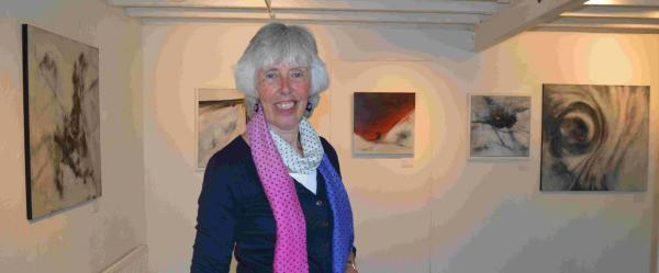 Margaret Gill showing her work at Studio53