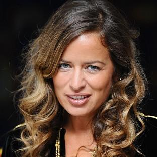 Jade Jagger gave birth four weeks after her daughter Assisi had a child
