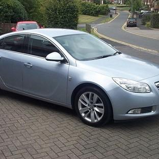 A silver/blue coloured Vauxhall Insignia, registration number VK63 LWL, which Warwickshire Police believe was used by those involved in the shooting