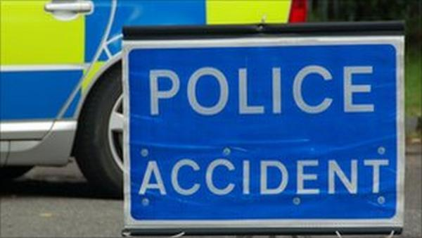 Woman dies after lorry hits her broken down car