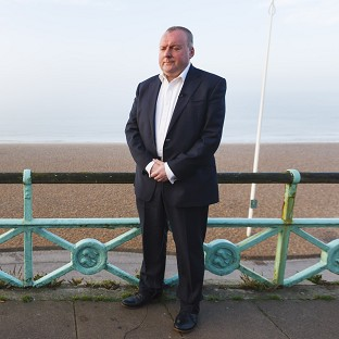 Former Labour spin doctor Damian McBride pictured in Brighton for the Labour Party conference in 2013.