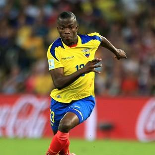 Enner Valencia has been granted a work permit to join West Ham