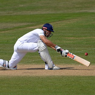 Alastair Cook confirmed his return to form with an unbeaten 70 for England