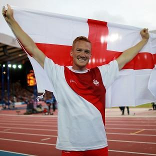 Greg Rutherford leapt to victory in the men's long jump at Hampden