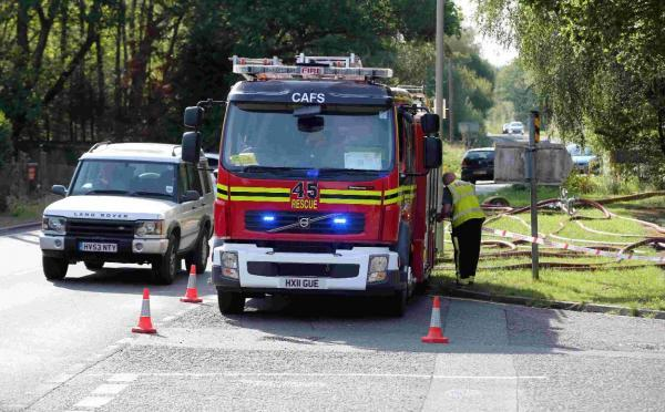 Fire at landfill site tackled