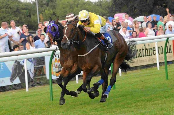 Some of the action from Salisbury Race Course.