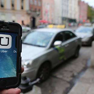 The Uber mobile phone app for hailing cabs has come under fire