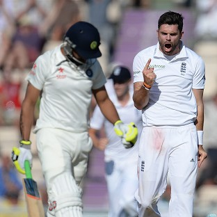 James Anderson has been in fine form for England in the series against India