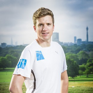 Greg James is working towards a Personal Best for the Bupa Great North Run on September 7