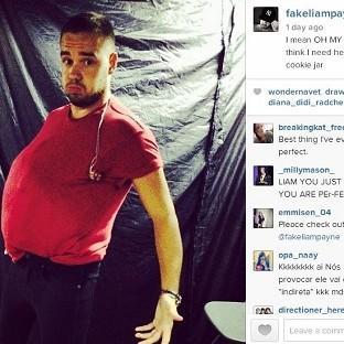 Liam Payne laughed off fat jibes (Liam Payne/Instagram)