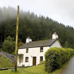The cottage in the village of Ceinws is to be demolished