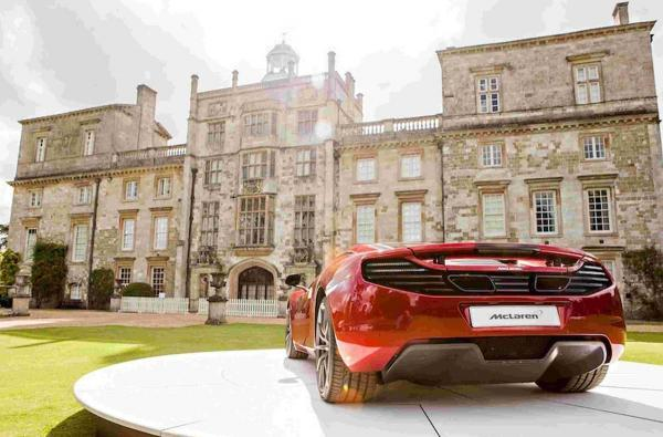The Supercars event will see millions of pounds worth of modern supercars and rare classics on display.