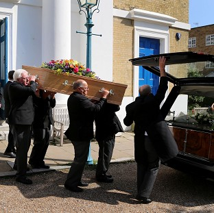 Rousing send-off for Dora Bryan