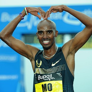 Mo Farah, pictured, will take on Stephe
