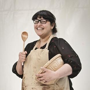 Claire Goodwin became the first contestant to leave the fifth series of The Great British Bake Off