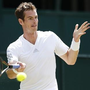 Andy Murray is through to the quarter-finals in