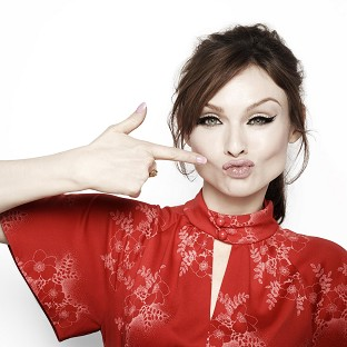 Sophie Ellis Bextor posed for celebrity photographer Rankin to launch ActionAid's Get Lippy campaign