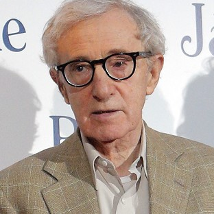 Woody Allen's handprints are not on the