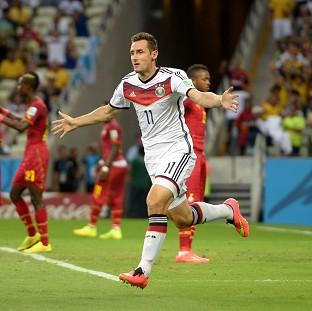 Miroslav Klose bows out of the international arena as a World Cup winner