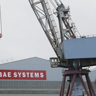 The BAE yards on the Clyde will build the new ships for the Royal Navy