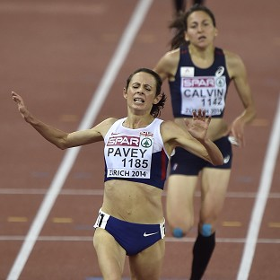 Gold for Pavey in Zurich