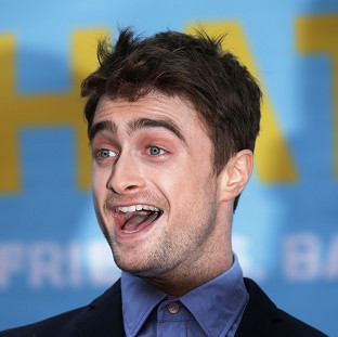 Daniel Radcliffe attends the premiere of What If at the Odeon West End, Leicester Square