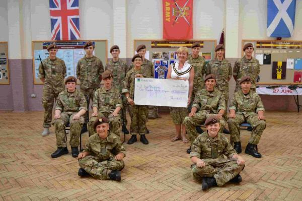 Ringwood Army Cadets receive funds