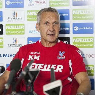 Keith Millen has been placed in temporary charge at Crystal Palace