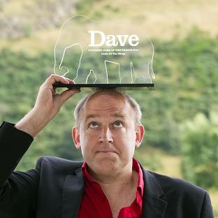 Tim Vine was presented with the Dave Funniest Joke of the Fringe 2014 award