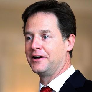 A TV film is to be made about Nick Clegg's role in forming the coalition Government