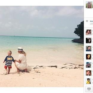 Reese Witherspoon posted some of her holiday pictures online (Reese Witherspoon/Instagram)