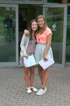 Students collect GCSE Results