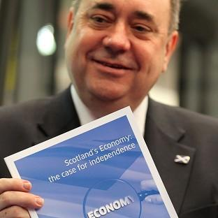 Alex Salmond believes a Yes vote will help persuade young people to stay in Scotland