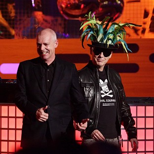 Neil Tennant and Chris Lowe of Pet Shop Boys made a surprise appearance on The Archers