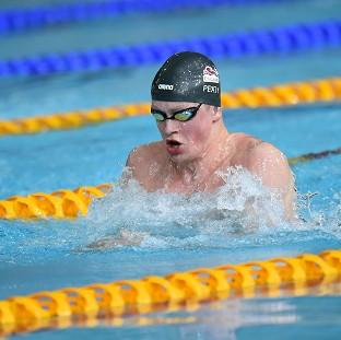 Adam Peaty has broken the world record