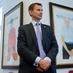 Jeremy Hunt said patients and families should not have to deal with the added stress of