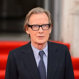 Bill Nighy said he was 'paralytically' self-conscious as a young actor