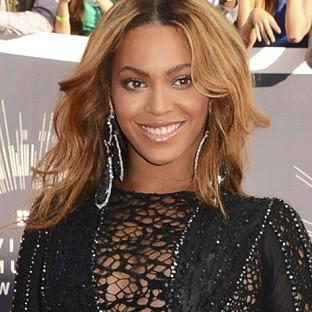 Beyonce arrives at the MTV Video Music Awards at The Forum in Inglewood, California (Jordan Strauss/Invision/AP)