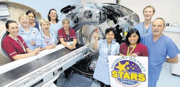 Your generosity sees Salisbury's new CT scanner arrive at hospital