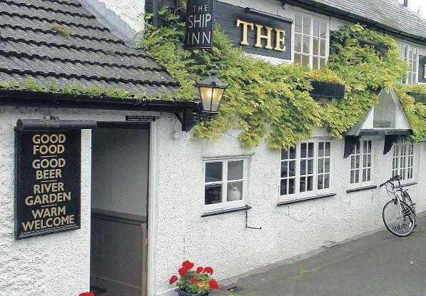 The Ship Inn at Burcombe
