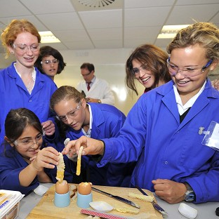5,000 boys and 40 girls completed Level 3 engineering apprenticeships last year, Professor Gina Rippon said