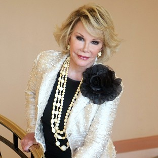 Charles pays tribute to Joan Rivers