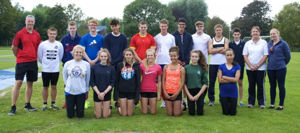 Starlets spend day with GB sprinter