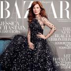 Salisbury Journal: Jessica Chastain appears on the cover of the latest issue of Harper's Bazaar magazine (David Slijper/Harper's Bazaar)
