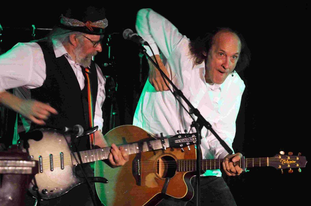 John Otway, right, and Wild Willy Barratt