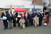 Launch of Poppy Appeal in Salisbury